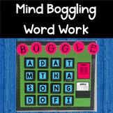 Interactive Mind Boggling Word Work Boggle Bulletin Board
