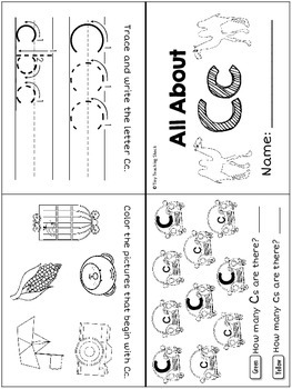 Interactive Mini Alphabet Book