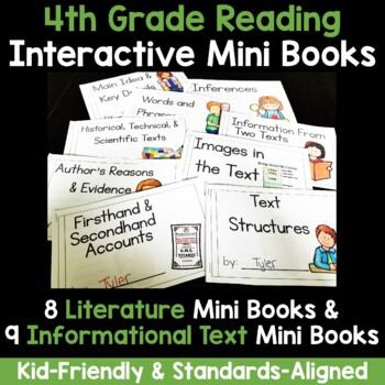 Interactive Mini Books Bundle {Fourth Grade}