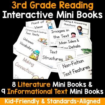 Interactive Mini Books Bundle {Third Grade}
