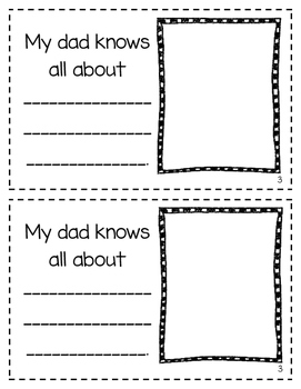 Interactive Mini Books--Mother's Day, Father's Day, Grandparent's Day