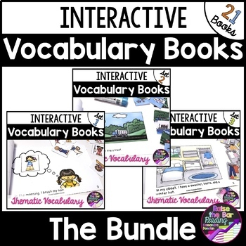 Interactive Mini Books *Bundle*: Building Vocabulary and Reading Fluency