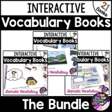 Interactive Mini Books *Bundle*: Building Vocabulary and R