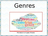 Interactive Minilesson on Types of Genres