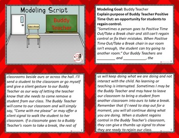 Interactive Modeling Script - Buddy Teacher