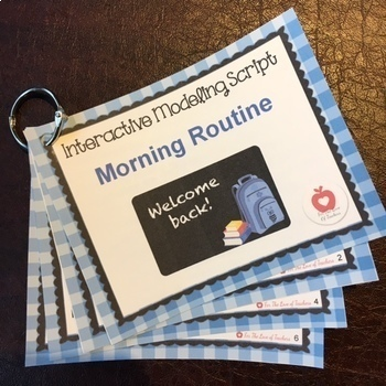 Morning Routine Modeling Script