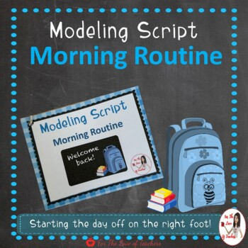 Interactive Modeling Scripts- Back to School Bundle