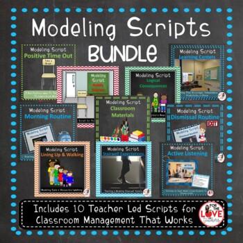 Routines & Procedures Modeling Scripts- Back to School Bundle