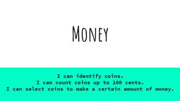 Google Classroom- Interactive Money Activities