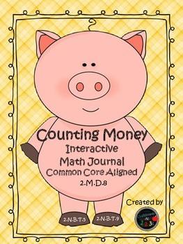 Interactive Money Notebook (Math)