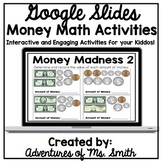 Interactive Money $ Slides for Google Classroom - Distance