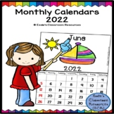 Interactive Monthly Calendar 2019