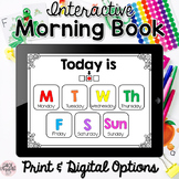 Interactive Morning Book! DISTANCE LEARNING