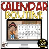 Interactive Morning Calendar Routine