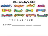 Interactive Morning Calendar Routine (with videos)