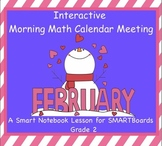 Interactive Morning Math Calendar Meeting SMARTBoard for F