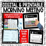 Interactive Morning Meeting BUNDLE with Real Photos