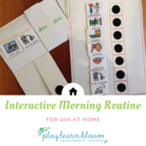Interactive Morning Routine Visual Schedule