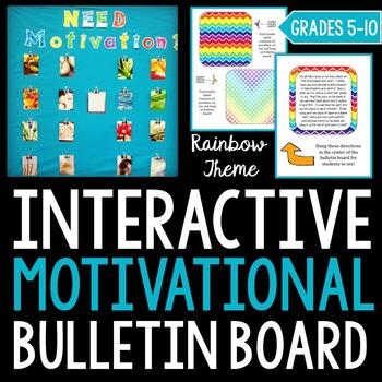 Interactive Motivational Bulletin Board