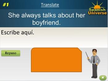 Interactive Multimedia Lesson -- Prepositions in Spanish
