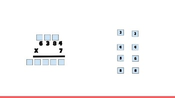 Interactive Multiplication Activity (4.4C)