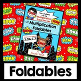 Multiplication Facts Practice   Interactive Notebook Foldables