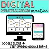 Interactive Multiplication Google Slides + Google Forms |