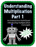 Interactive Multiplication Math Quest - Web-based Activity CCSS 3rd 4th Grade