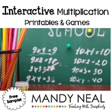 Interactive Multiplication Printables and Games