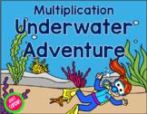 Interactive Multiplication Underwater Adventure {Great for