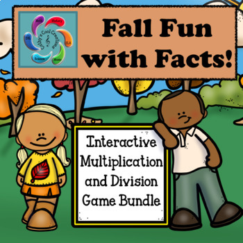 Interactive Multiplication and Division Bundle-Fall Fun with Facts #NYcountdown5