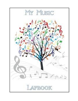 Interactive Music Folder / My Music Lapbook