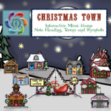 Interactive Music Game-Christmas Town- distance learning