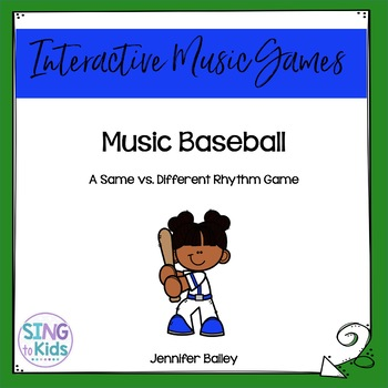 Interactive Music Game: Music Baseball {6/8 Edition}