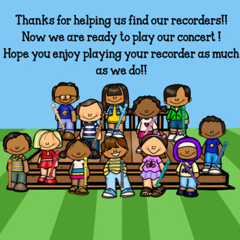 Interactive Music Game (Recorder) Google Slides/PDF Rayann's Recorder Roundup