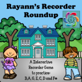 Interactive Music Game (Recorder)  Rayann's Recorder Roundup