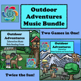 Interactive Music Games Bundle-Outdoor Adventures- distance learning
