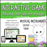 Interactive Music Games - Easter Instruments: Reveal the Image!