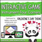 Interactive Music Games - Four Corners Instrument Game : V