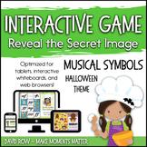 Interactive Music Games - Halloween Musical Symbols: Revea