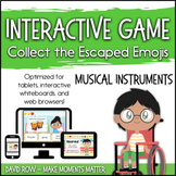 Interactive Music Games - Musical Instruments : Catch the Emojis!