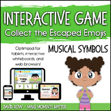 Interactive Music Games - Musical Symbols : Catch the Emojis!