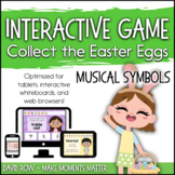 Interactive Music Games - Musical Symbols : Collect the Ea