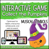 Interactive Music Games - Musical Symbols : Collect the Pumpkins!