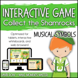 Interactive Music Games - Musical Symbols : Collect the Sh