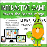 Interactive Music Games - St. Patrick's Day Musical Symbol