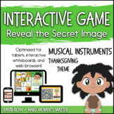 Interactive Music Games - Thanksgiving Instruments: Reveal