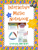 Interactive Music Notebook