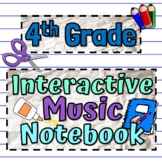 Interactive Music Notebook - Music in Nature Coloring Book Worksheets