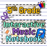 Interactive Music Notebook - The Instruments of the Orchestra Worksheets